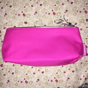 Pink Clinique Makeup Bag